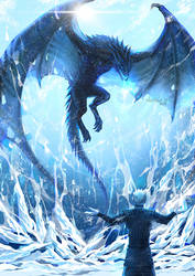 GoT: Viserion resurrection by alexielart