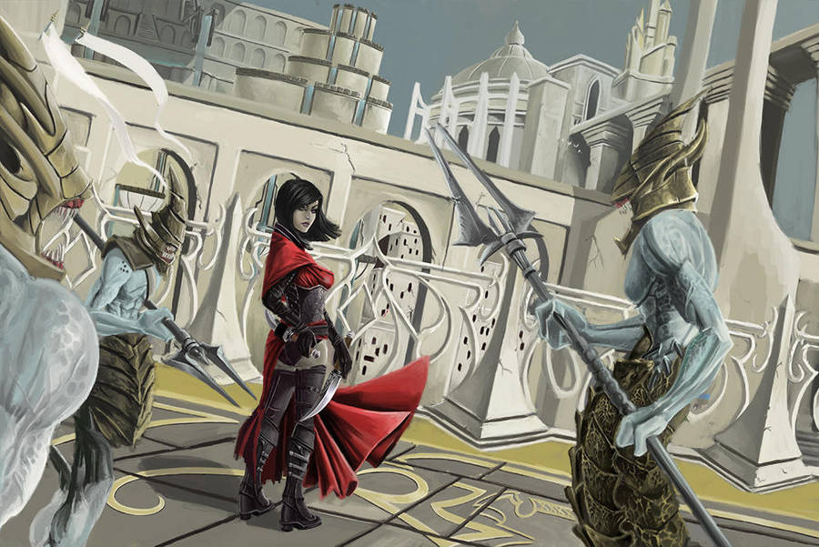 Ascension of the Viz-jaqtaar by Vymnis