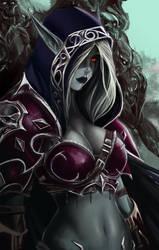 Heroes of the storm ultimate fan art: Sylvanas by Vymnis