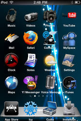 iPod Touch Home Screen by krizlx