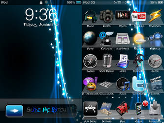 My iPod Touch Theme by krizlx