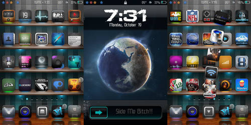 iPod touch home screen10-19-09 by krizlx
