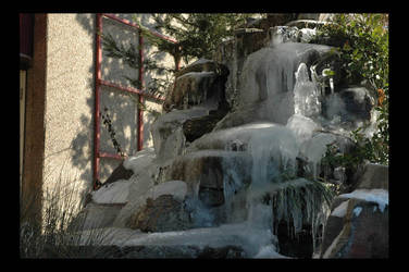 Spring ice sculpture by Ah-Teen