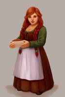 Innkeepers daughter by LKivihall