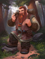 Traveling dwarf by LKivihall