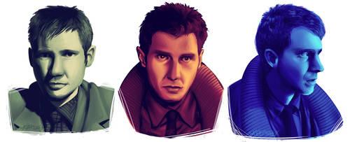 Blade Runner - Rick Deckard by NeppyNeptune