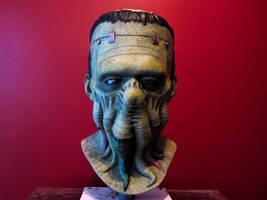 Frankenthulhu Latex Mask by AfterlightRob