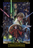 Star Wars, Episode One: The Phantom Menace by TheGeekCanPaint