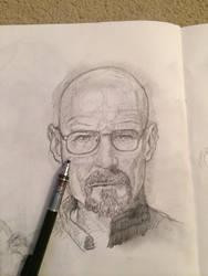 Walter White 20 min sketch by Zootslash