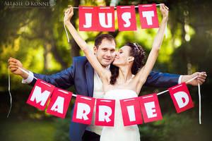 Just Married by Aleksie