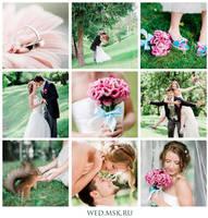 Wed collage by Aleksie