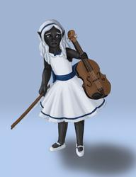Aria's Violin by Riverthorne