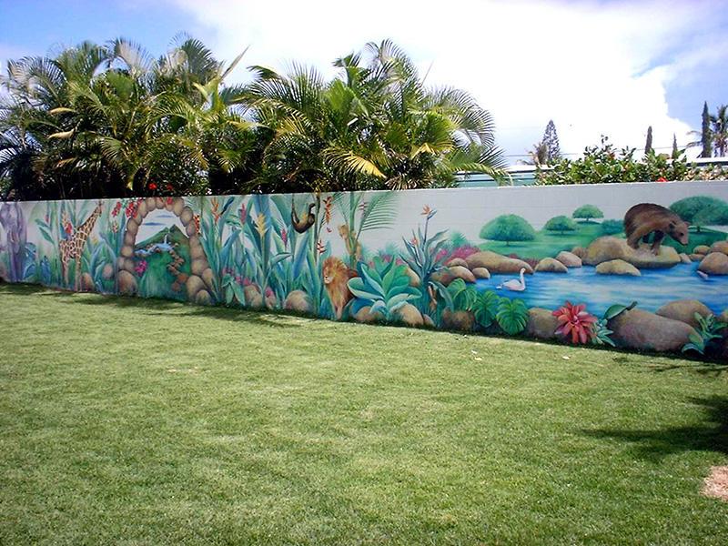 Park Bahce Duvar Resmi Boyama 1 By Grfkressam55 On Deviantart