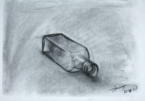 Still life, Glass Bottle by stanuga