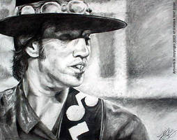 Stevie Ray Vaughan - Rude Mood by Javadoodle