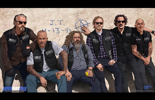 Sons of Anarchy: Final Ride by Javadoodle
