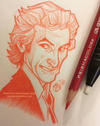Doctor Disco Sketch by Javadoodle