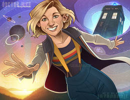 Doctor Who: Lucky Thirteen by Javadoodle