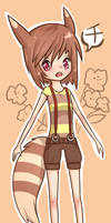 Sen the Furret by Sarucho