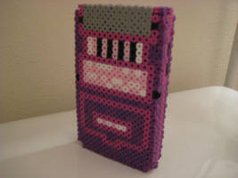 3-D Gameboy color perler 2 by Birdseednerd
