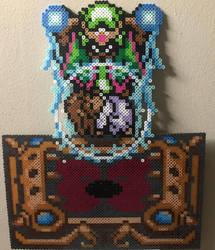 Agahnim taking Zelda perler by Birdseednerd