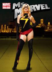 Strzechowski as Ms. Marvel by jpbbantigue
