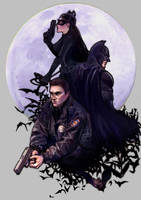The Dark Knight Rises by SeanHe
