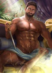 Set (Gods of Egypt ) by SeanHe