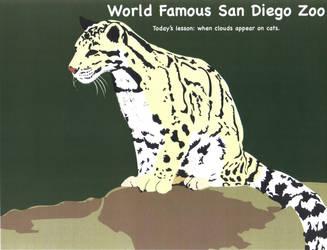 Clouded Leopard by dream-chylde