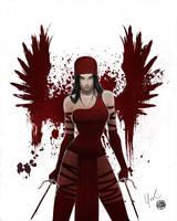 Elektra Blood Wings Redux by Protokitty