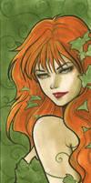 Poison Ivy Mini Portrait by Protokitty
