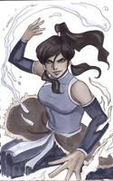 Korra Avatar Sketch by Protokitty