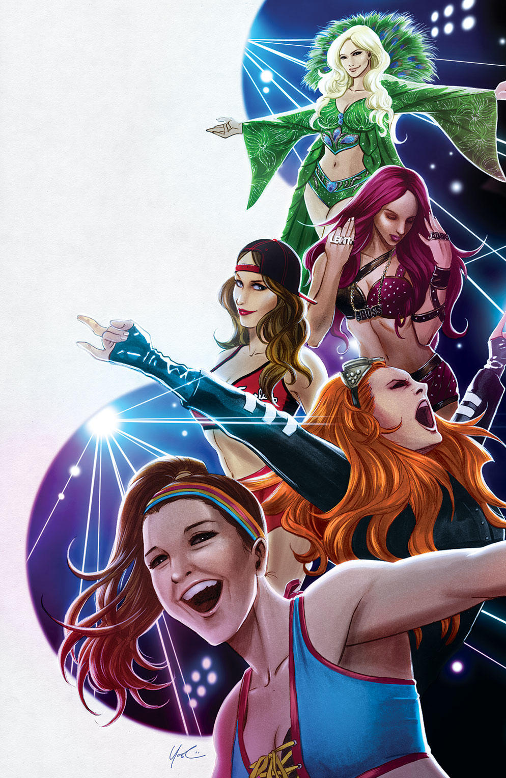WWE SDCC 2017 Exclusive Cover by Protokitty