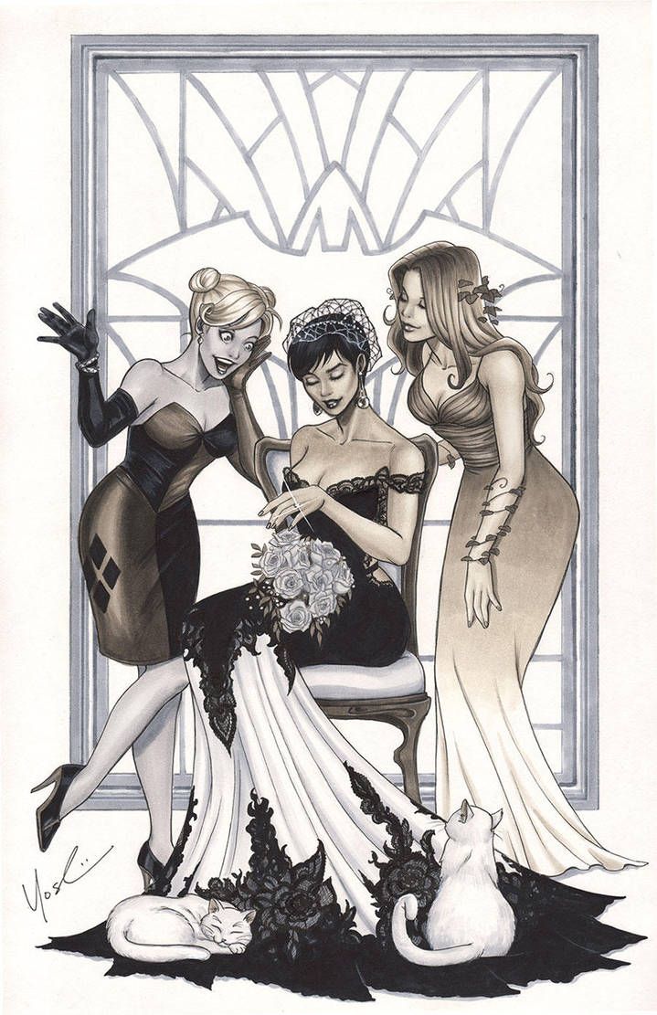 Catwoman's Wedding Day by Protokitty
