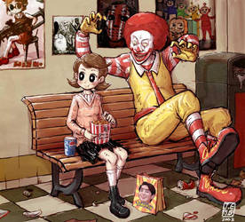 Ronald McDonald by sachsen