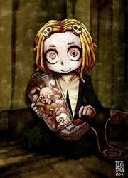 Cute Little Dead Girl by sachsen