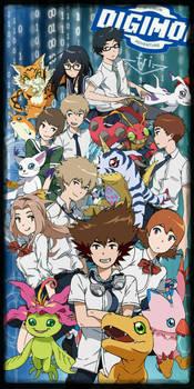 Digimon Adventure Tri. All 9 Digidestined by digiphantom1994