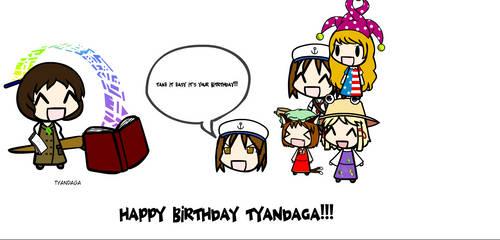 HAPPY BIRTHDAY TYANDAGA by FnafDulen