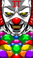 Pennywise - Tim Curry by ahbe87