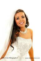 smiling bride by Dean-Irvine