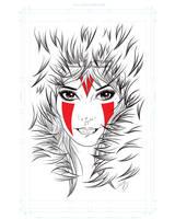Princess Mononoke by Dean-Irvine