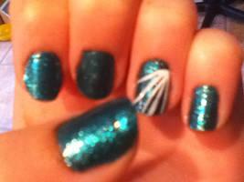 my nail design by Kitten2222