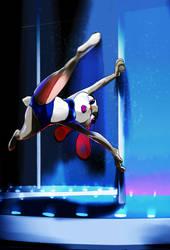 Pole Dancing judy by zigrock001