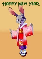 Happy new year Judy Hopps by zigrock001