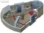 USS Defiant - Transporterroom 2 by bobye2