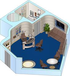 USS Odyssey - Readyroom by bobye2
