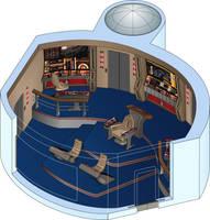 USS Odyssey - Battle bridge by bobye2