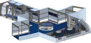 USS Odyssey - Small Lounge (Nine forward) by bobye2