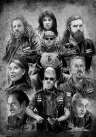 Sons of Anarchy by artofsw