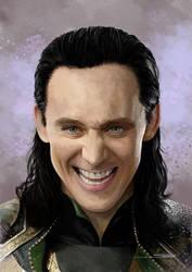 I am Loki by artofsw